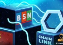 China's Blockchain Service Network Integrates Chainlink's LINK Data Oracles 350x209 2