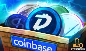 Coinbase to Add DigiByte DGB 17 Others in Massive Altcoin token Listing 350x209 2