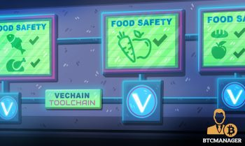 VeChain VET Rolls Out Blockchain based Food Safety Solution 350x209 1