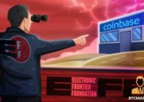 Electronic Frontier Foundation Asks Coinbase to Submit Transparency Reports 350x209 2