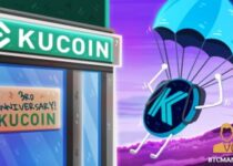 KuCoin to Airdrop Kratos KTS Test Token Launch the Velo IEO on their 3rd Anniversary 350x209 2