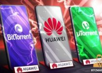 TRONs BitTorrent Partnered with Huawei 350x209 2