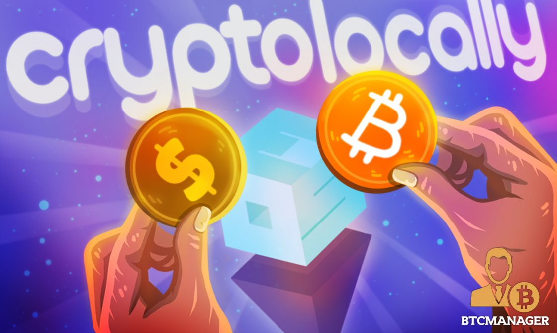 Buying cryptocurrency from a local p2p exchange