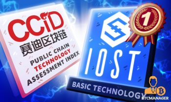 IOST leads under basic technology in CCID rankings
