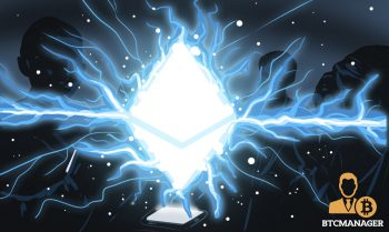 Ethereum Electric Charge Blue