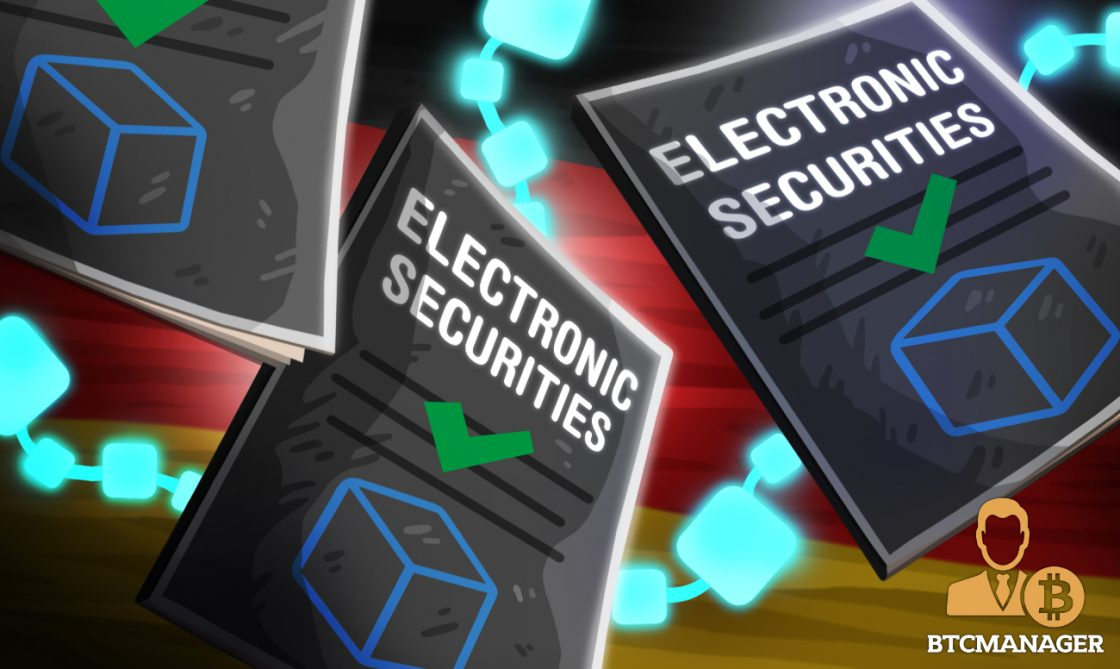Germany Legalizes Electronic Securities on the Blockchain