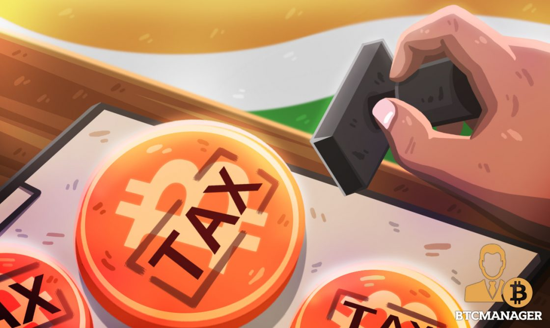tax stamp on bitcoin in India