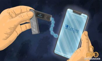 Ledger Wallet Connecting to a Smartphone
