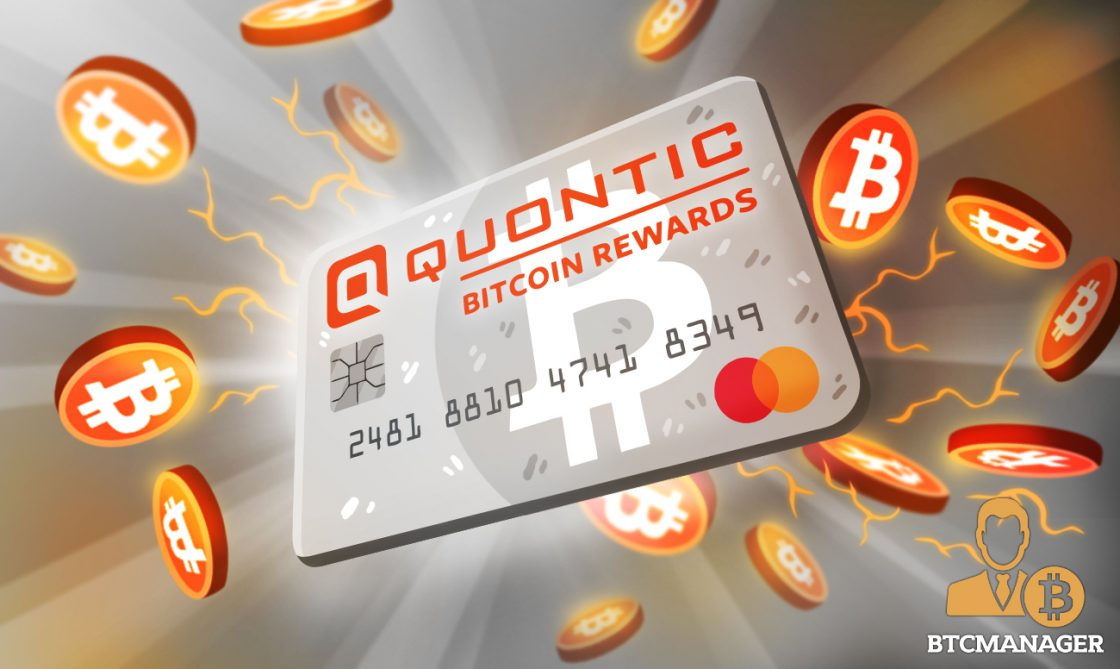 New York's Quontic Becomes First US Bank to Offer a Bitcoin Rewards Debit Card