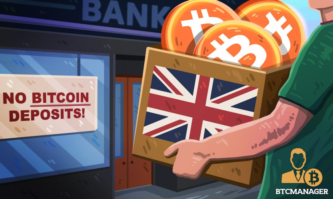 Bitcoin holders barred from depositing profits in UK banks