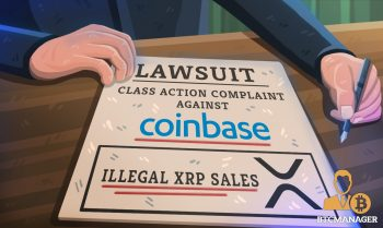 Coinbase Sued Over Illegal XRP Sales