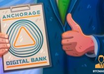 Cryptocurrency startup Anchorage granted provisional federal charter bank OK 350x209 2