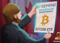 Gemini to sub custody new Bitcoin ETF filed in Canada 350x209 2