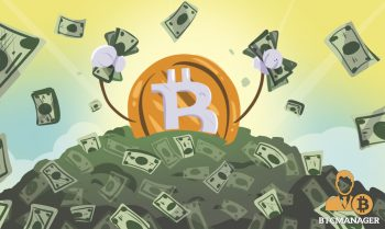 Bitcoin swimming in piles of cash