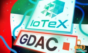 IoTeX Partners with Global Digital Assets Corporation (GDAC) for the Dubai Foresight Initiative