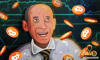 nigel green in front of bitcoin