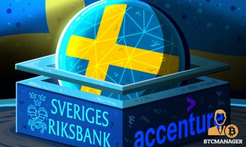 Sweden's Central bank Partners Up With Accenture to Launch E-Krona