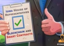 Iowa House Says Yes to Blockchain and Smart Contracts 350x209 2