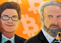 My son Spencer Schiff went all in on Bitcoin 350x209 2