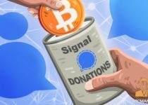 Signal to accept cryptocurrency donations 350x209 2