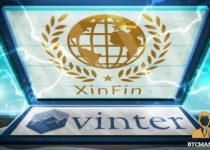 XinFin Collaborates with Vinter To Launch Regulated XDC Index 350x209 2