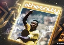 Collectible 3D Trading Card NFTs Celebrating the Legacy of Soccer Legend Pele Drops on Ethernity Chain May 2nd 350x209 2