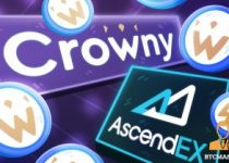 Crowny Listing on AscendEX 350x209 2