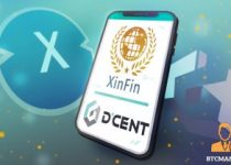 DCENT Announces XinFin as New Default Account in App 350x209 2