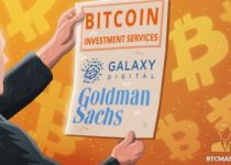 Goldman Sach Scores Partnership with Galaxy Digital to Provide BTC Investment Services 350x209 2