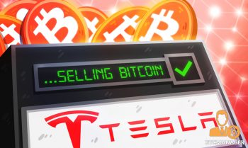 Tesla only sold 10 of holdings to confirm BTC could be liquidated easily without moving market 350x209 2